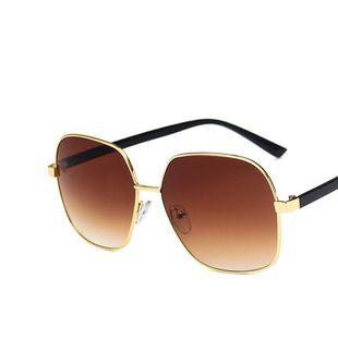 TR leg metal polygon frog mirror new  street shooting wild  sunglasses nihaojewelry wholesale NHKD222783's discount tags