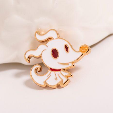 nouveau dessin animé créatif mignon petit renard vêtements ornement mignon broche nihaojewelry gros NHMO222877's discount tags