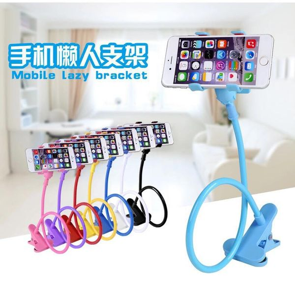 creative lazy supplies mobile phone rack lazy bedside desktop mobile phone bracket wholesale NHAZJ222935