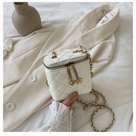 mode coréen simple Lingge chaîne sac femme sac nouvelle vague coréenne sauvage mini sac à bandoulière nihaojewelry gros NHTC223060's discount tags