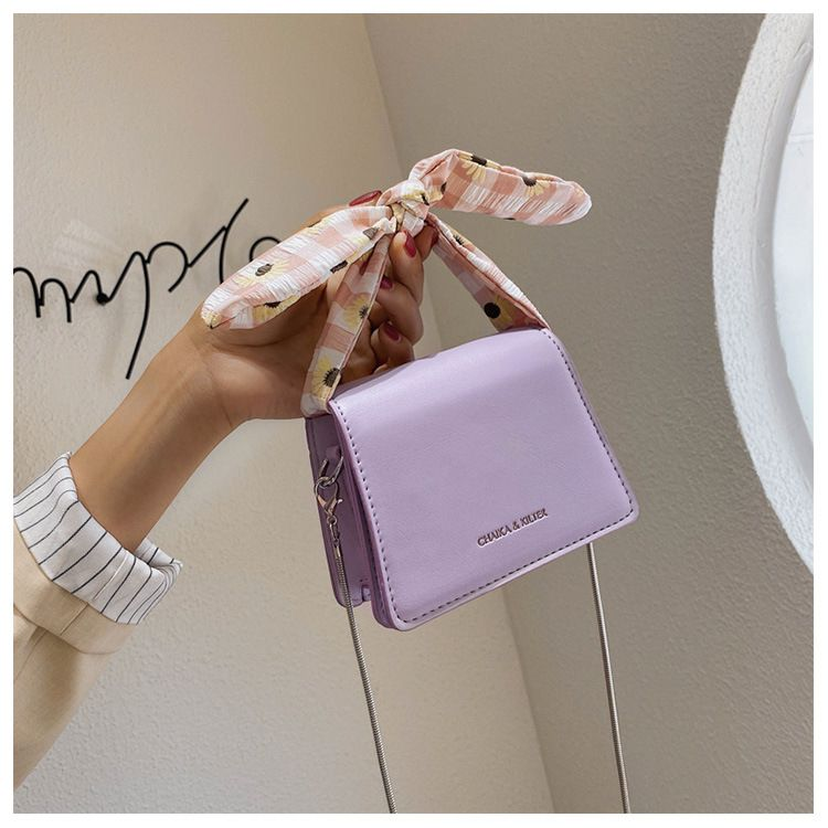 fashion new Mini  bag  popular new trendy wild chain messenger bag simple small square bag nihaojewelry wholesale NHTC223073