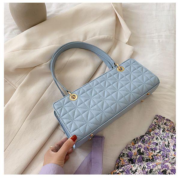 fashion small bag female bag  popular new wave Korean one-shoulder armpit bag portable French bag nihaojewelry wholesale NHTC223100