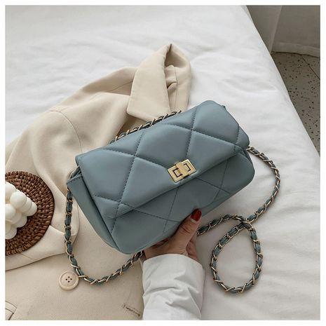 Coréen simple mode nouvelle vague texture messenger sac chaîne sauvage petit sac carré nihaojewelry gros NHTC223111's discount tags
