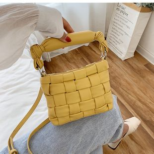 new wave fashion popular woven female bag wild messenger handbag nihaojewelry wholesale NHXC223131's discount tags