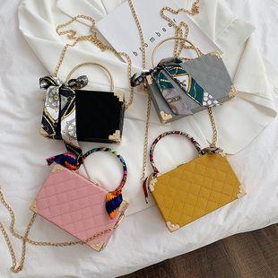 nouveau coréen rétro mode broderie fil sac à main chaîne sauvage à clapet épaule messenger sac nihaojewelry en gros NHPB223174's discount tags
