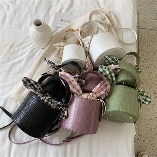 nouvel été motif de crocodile sauvage pompage portable seau sac chaîne de mode féminine épaule unique diagonale sac nihaojewelry en gros NHPB223175's discount tags