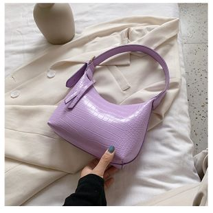 New texture small bag women bag  popular new trendy fashion  shoulder bag summer wild armpit bag nihaojewelry wholesale NHTC223188's discount tags