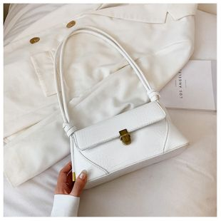 High-grade bag women bag  popular new wave  fashion crocodile pattern shoulder wild all-match simple underarm bag nihaojewelry wholesale NHTC223189's discount tags