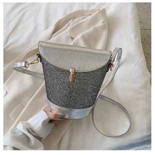 new fashion sense bucket bag  retro style messenger female bag  Korean temperament casual bag nihaojewelry wholesale NHTC223190's discount tags
