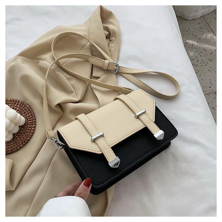 fashion  mini bag female  popular new wave fashion hit color  messenger Cambridge bag nihaojewelry wholesale NHTC223193