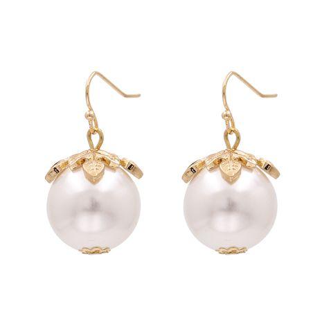 Boucles d'oreilles de mode coréenne perles filles boucles d'oreilles en gros nihaojewelry NHJJ223247's discount tags