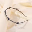 tendance de la mode nouveau rtro bleu diamant bande de cheveux personnalit de vente chaude accessoires de cheveux de marie sauvage en gros niihaojewelry NHMD223294