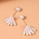 mode crative en forme de goutte boucles doreilles en perles japonaises et corennes nouvelles longues boucles doreilles temprament doux en gros nihaojewelry NHMD223297
