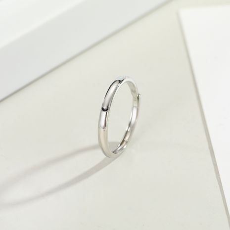 Korean fashion new moon star couple ring live mouth minimalist style super fire men and women ring gift  wholesale niihaojewelry NHGO223339's discount tags