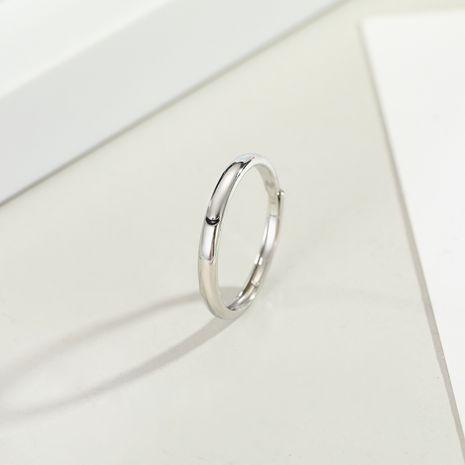 Moda coreana luna nueva estrella pareja anillo boca viva estilo minimalista super fuego hombres y mujeres anillo regalo al por mayor niihaojewelry NHGO223339's discount tags