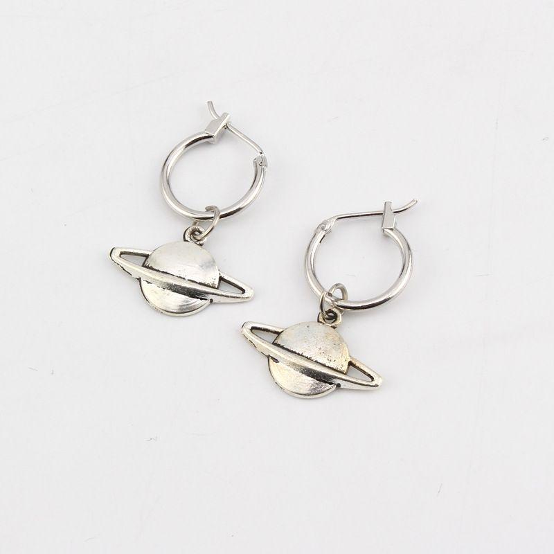 fashion trend creative earrings earrings fashion retro planet planet earrings hot jewelry wholesale nihaojewelry NHGO223366