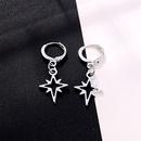 fashion trend jewelry simple hollow meteor small earrings star ear ring ear buckle wholesale nihaojewelry NHGO223384