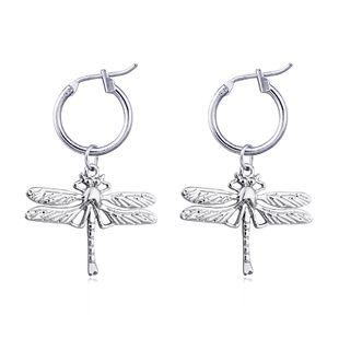 mode tendance bijoux mignon exagéré grande libellule pendentif boucles d'oreilles animal boucle d'oreille bijoux vente chaude en gros nihaojewelry NHGO223390's discount tags