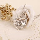 explosion of money chain fashion trend jewelry love you mom  clavicle chain wholesale nihaojewelry NHMO223441