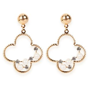 Fashion alloy geometric earrings simple personality retro earrings wholesale nihaojewelry NHCT223477's discount tags