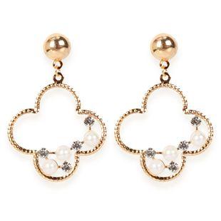 Boucles d'oreilles géométriques en alliage de mode Boucles d'oreilles rétro à personnalité simple en gros Nihaojewelry NHCT223477's discount tags