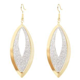 bijoux de mode exagéré géométrique boucles d'oreilles en métal creux boucles d'oreilles en alliage de mode en gros nihaojewelry NHCT223481's discount tags
