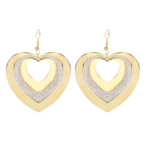 boucles d'oreilles d'amour de la personnalité en alliage de style rétro boucles d'oreilles creuses en gros nihaojewelry NHCT223493's discount tags