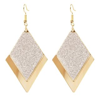 simple diamant sauvage givré boucles d'oreilles personnalité européenne et américaine rétro boucles d'oreilles en gros nihaojewelry NHCT223495's discount tags