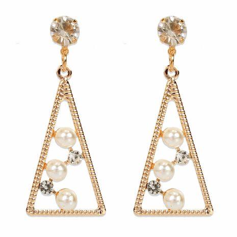 personnalité simple tempérament alliage diamant perle boucles d'oreilles mode boucles d'oreilles en gros nihaojewelry NHCT223497's discount tags