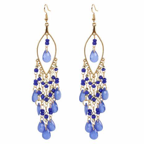 style de mode doux personnalité boucles d'oreilles simples style boho exagéré mode gland perle en gros nihaojewelry NHCT223516's discount tags