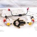 bracelet ethnic style Miyuki rice beads woven Fatima palm eyes religious totem jewelry wholesale nihaojewelry NHGW223549