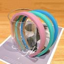 Bandeau  large bord de couleur bonbon t coren nouveaux accessoires de cheveux de bandeau simple carte de cheveux sauvages chapeaux sauvages en gros nihaojewelry NHNA223580