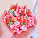 Candycolored resin childrens hair clip cute bow fruit hairpin baby girl bangs clip hair accessories wholesale nihaojewelry NHNA223592