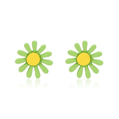 personality Mori Sunflower Daisy earrings small flower petals sweet temperament Korean wild earrings wholesale nihaojewelry NHXS223756's discount tags