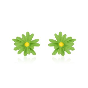 small daisy small flower pendant material alloy petal earring jewelry handmade diy earring accessories wholesale nihaojewelry NHXS223758's discount tags