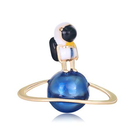 Nueva gota de aceite broche de moda astronauta planeta broche al por mayor nihaojewelry NHDR223768's discount tags