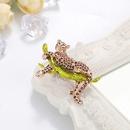 fashion jewelry fashion personality cartoon drop oil leopard brooch wild brooch enamel jewelry wholesale nihaojewelry NHDR223774