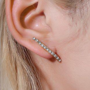 Modelos de explosión pendientes de diamantes en línea temperamento moda simple pendientes salvajes pendientes de tendencia al por mayor nihaojewelry NHMO223839's discount tags