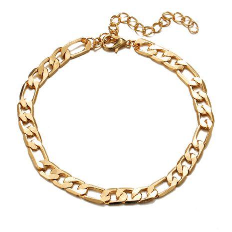 nouveau bracelet en acier inoxydable créatif rétro simple chaîne de cheville en gros nihaojewelry NHYI223924's discount tags
