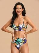 nuevo traje de bao sexy impreso bikini traje de bao al por mayor nihaojewelry NHHL230554