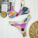 mode nouveau imprim floral split bikini sexy en gros nihaojewelry NHZO230595