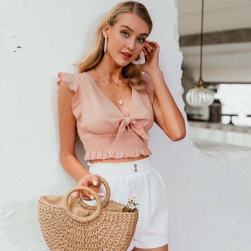 fashion  new  slim sexy pink  strapless suspender   wholesale NHDE230705