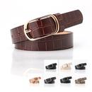 Belt women new fashion pin buckle belt ladies coat dress sweater decorative belt wholesale nihaojewelry NHJN230741