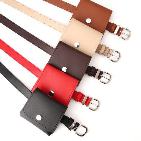 Nuevo bolso de cinturón para mujer, mini monedero de moda, cinturón de producto, bolso pequeño de cinturón multifuncional al por mayor nihaojewelry NHJN230748's discount tags