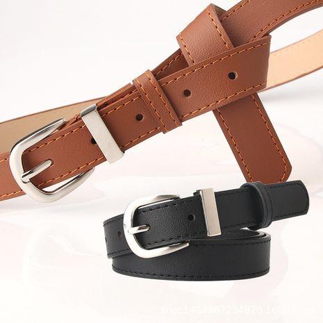 Cinturón de señoras nuevo cinturón decorativo salvaje simple Pantalones de moda coreana ropa cinturón a juego al por mayor nihaojewelry NHJN230749's discount tags