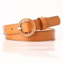 Nueva hebilla redonda para mujer cinturn casual cinturn moda simple vestido a juego falda cinturn decorativo venta al por mayor nihaojewelry NHJN230753