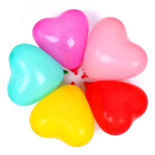Balloon latex balloons exclusively for wedding arrangements birthday party 2.2 g heart-shaped latex balloons wholesale nihaojewerly NHSG233317's discount tags