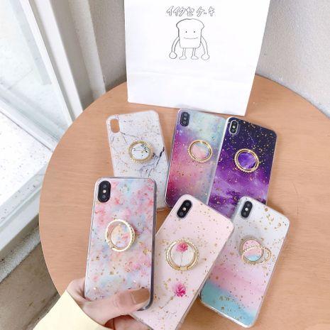 Étui de téléphone mobile en marbre doré créatif adapté à l'iPhone XS MAX / iphone7plus / 6s support shell gros nihaojewelry NHFI233326's discount tags