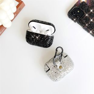 Sparkling rhinestone hard shell AirPods pro 3 auriculares inalámbricos Bluetooth funda protectora color creativo diamante anti-caída 2 venta al por mayor nihaojewelry NHFI233327's discount tags