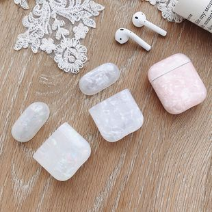 Airpods pro 3rd color shell earphone protective sleeve anti-fall silicone protective sleeve creative new wholesale nihaojewelry NHFI233332's discount tags